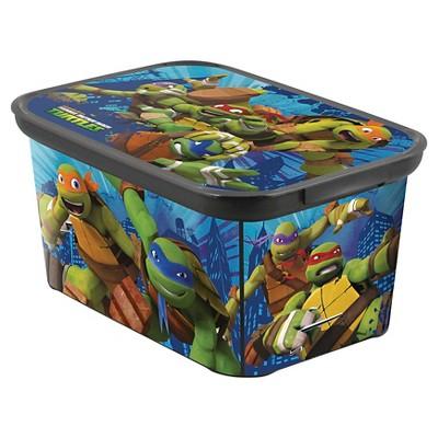 Teenage Mutant Ninja Turtles Plastic Storage Bin Small