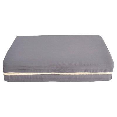 Rectangle Orthopedic Pet Foam Mat, Gray M - Boots & Barkley™