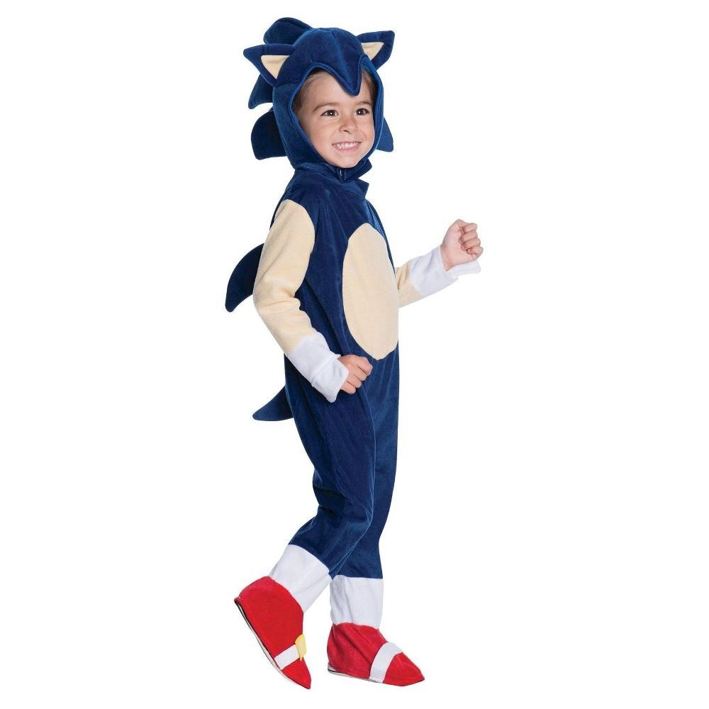 Boys' Toddler Sonic Romper Costume - 2T-4T