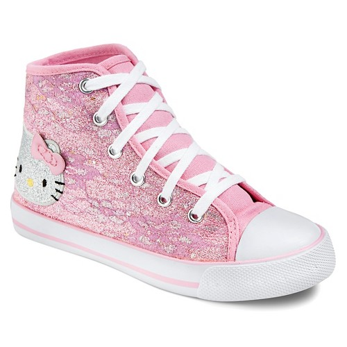 High Top Hello Kitty Shoes