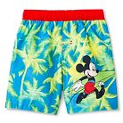 Mickey Mouse Toddler Boys'  Swim Trunk - Blue
