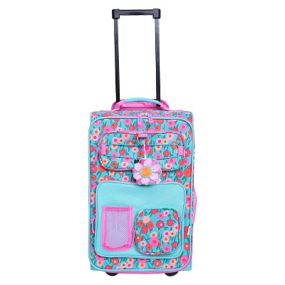 "Crckt Kids Carry On Upright suitcase - Green/Blue (18"")"