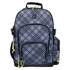 iPack Backpack - Grey Plaid