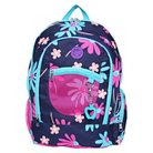 Double Dutch Club Backpack - Blue/Pink Floral