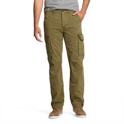 Olde School Men's Twill Cargo Pants