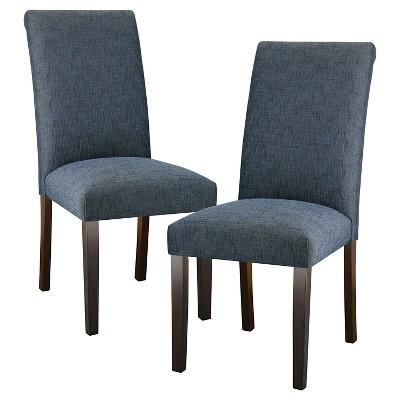 Avington Luxe Dining Chair -  Indigo (Set of 2)
