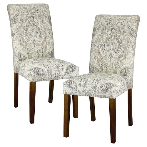 Accent Dining Room Chairs: Avington Print Accent Dining Chair