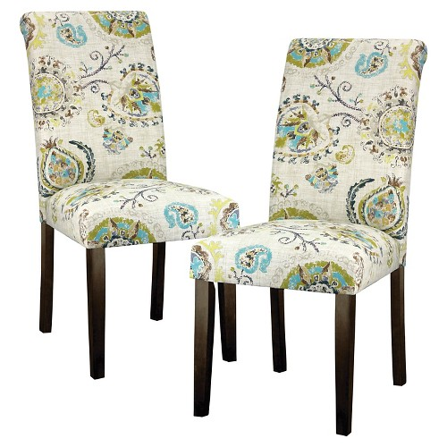 Target Dining Room Chairs: Avington Print Accent Dining Chair