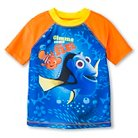 Disney Finding Nemo Dory Toddler Boys' Swim Rash Guard Blue 3T