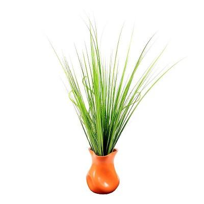 "Vickerman Artificial Plant Vase - Orange (26.0 X 6.0 X 6.0"")"