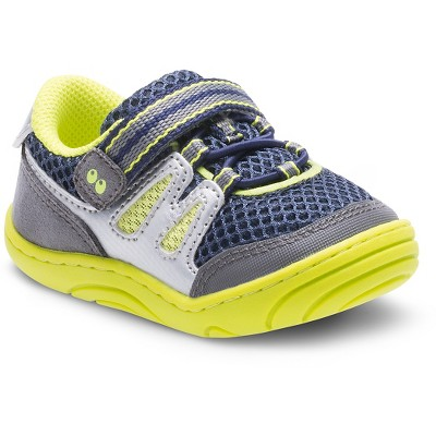 Infant Boys' Surprize by Stride Rite Aston Sneakers - Blue/Green 2