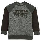 Star Wars Boys' Star Swarm Long Sleeve Crew Black XS