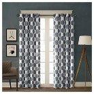 Roku Printed Dot Curtain Panel - Grey
