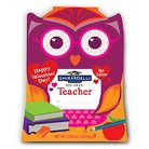 GHIRARDELLI  3.72OZ. Teacher Owl Gift