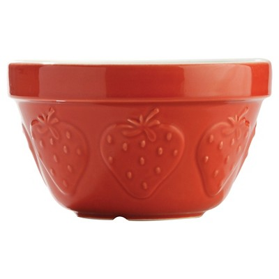 Mason Cash 6.3Inch Pudding Basin- Strawberry