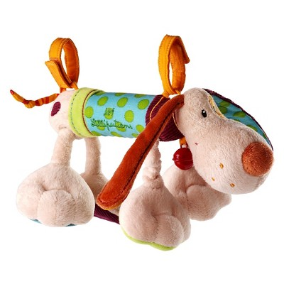 Lilliputiens Jef The Dog Activity Rattle