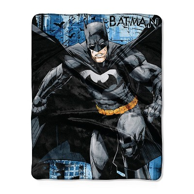 DC Comics Multicolored DC Comics Throw  - 40x50 inches
