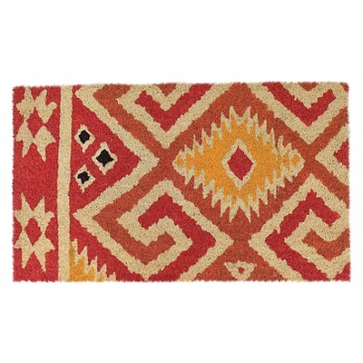 Threshold™ Phoenix Doormat Orange 18x30