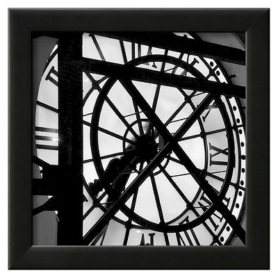 Art.com Paris Clock II by Alison Jerry - Framed Art Print