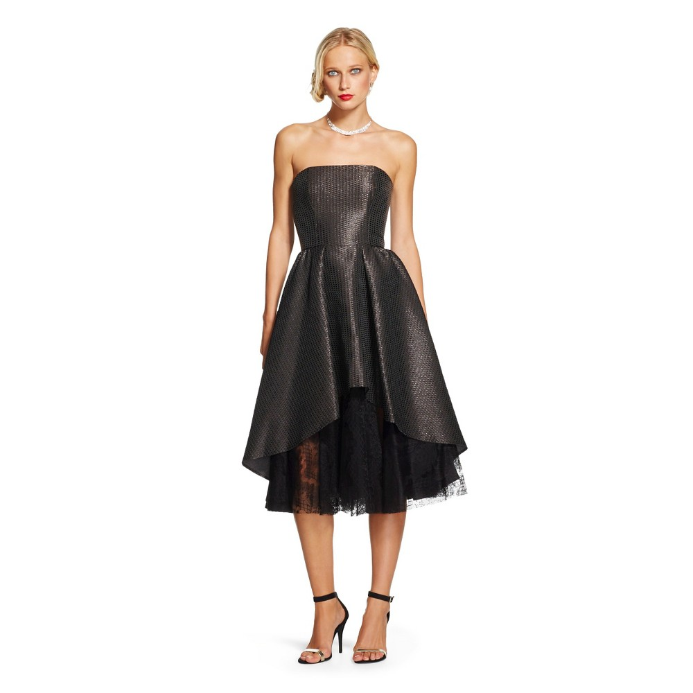 Strapless Cocktail Dresses By Abs - Long Dresses Online