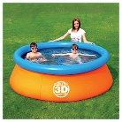 Splash & Play Kiddie Pool 425gallon - Orange