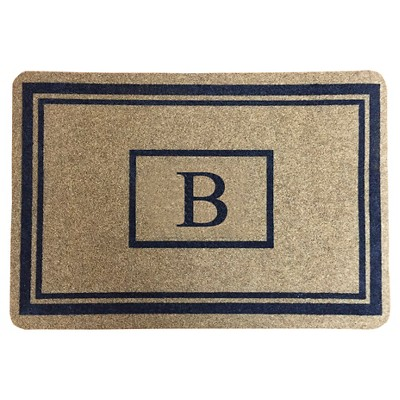 """Threshold™ Monogram Doormat - B (1'11""""X2'11"""")"""