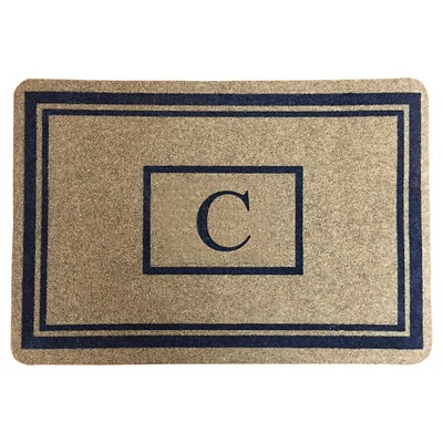 "Threshold™ Monogram Doormat - C (1'11""X2'11"")"