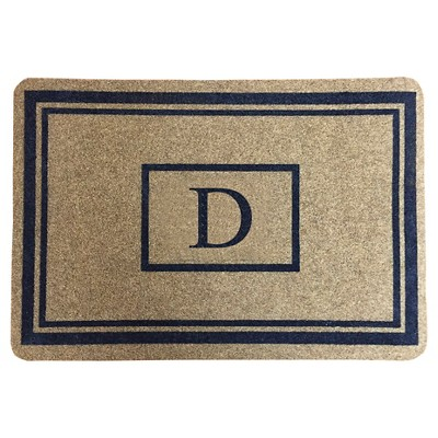 "Threshold™ Monogram Doormat - D (1'11""X2'11"")"