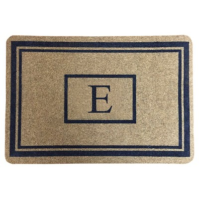 "Threshold™ Monogram Doormat - E (1'11""X2'11"")"