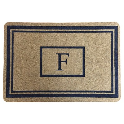 "Threshold™ Monogram Doormat - F (1'11""X2'11"")"