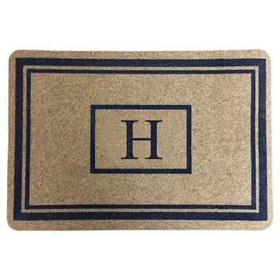 "Threshold™ Monogram Doormat - H (1'11""X2'11"")"