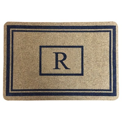 "Threshold™ Monogram Doormat - R (1'11""X2'11"")"