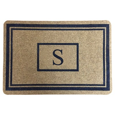 "Threshold™ Monogram Doormat - S (1'11""X2'11"")"
