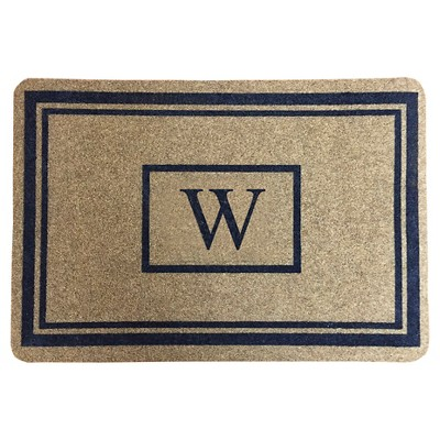 "Threshold™ Monogram Doormat - W (1'11""X2'11"")"