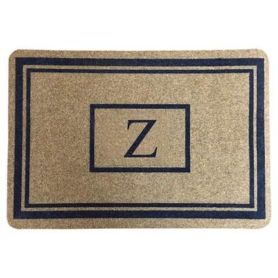 """Threshold™ Monogram Doormat - Z (1'11""""X2'11"""")"""