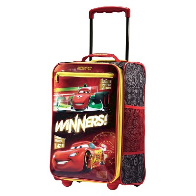 "American Tourister Disney Car 18"" Carry On Luggage"