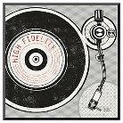 Art.com Vintage Analog Record Player by Michael Mullan - Mounted Print