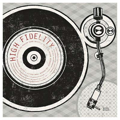 Art.com Vintage Analog Record Player by Michael Mullan - Art Print