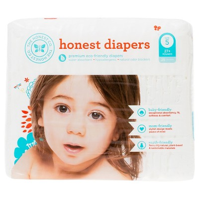Honest Company  Diapers White - Size 5  (25 Count)