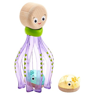 Fisher-Price Wooden Toys - Sea Party Octopus