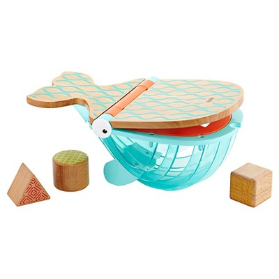 Fisher-Price Wooden Toys - Hungry Humpback Shape Sorter