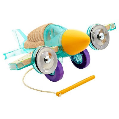 Fisher-Price Wooden Toys - Rhythm & Roll Percussion Plane