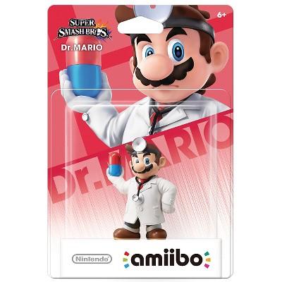 Nintendo Dr. Mario amiibo Figure