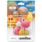 Nintendo Pink Yarn Yoshi amiibo Figure for Yoshi's Woolly World