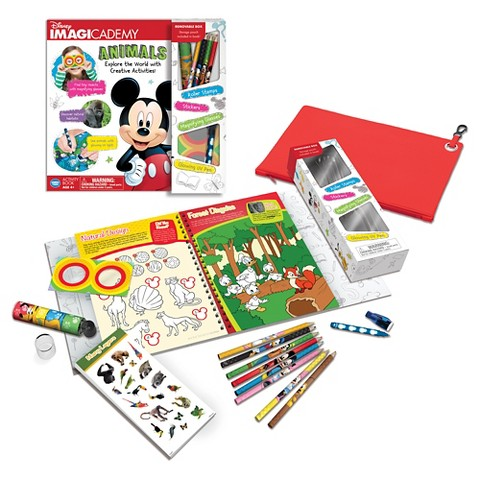 Disney Imagicademy Animals Activity Book
