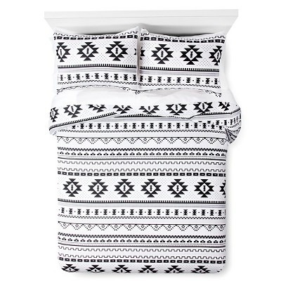 Printed Comforter (Full/Queen) Black&White - Xhilaration™