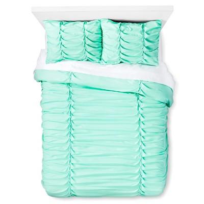 Braided Textured Comforter Set (Twin/Twin Extra Long) Green - Xhilaration™
