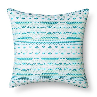 "Embroidery Pillow (14.6""x15"") Multicolor - Xhilaration™"