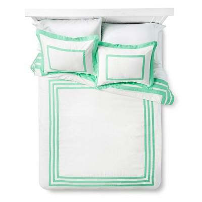 Hotel Joyful Mint Comforter Set (Full/Queen) Mint - Xhilaration™
