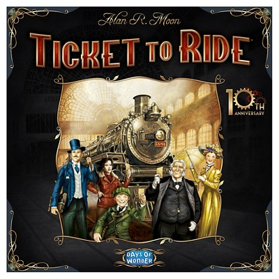Ticket to Ride 10th Anniversary Strategy Board Game